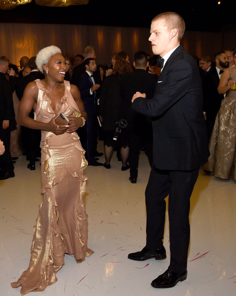Pictured: Lucas Hedges and Cynthia Erivo