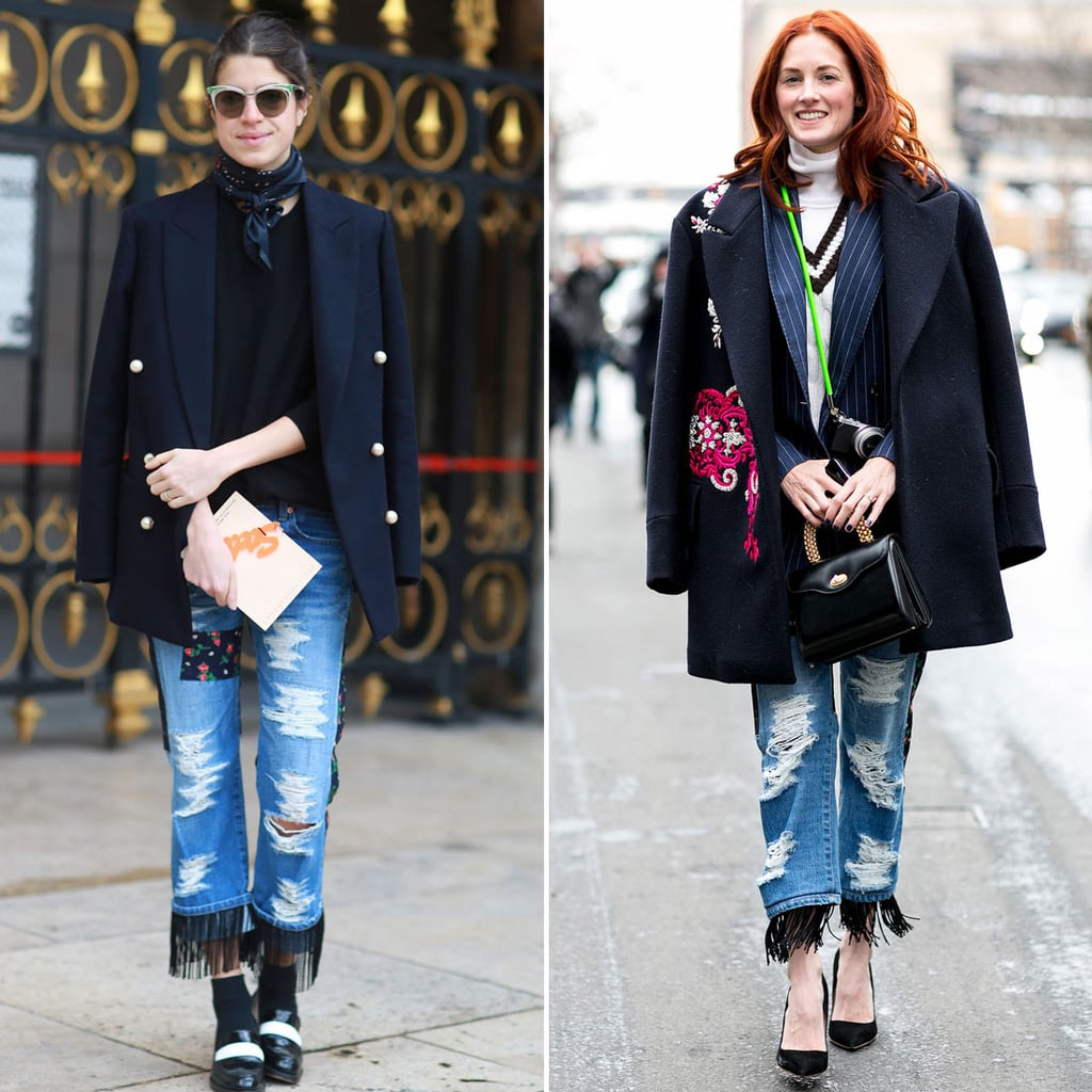 Street Style Pictures at Fashion Week