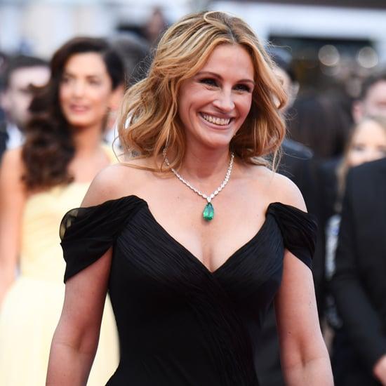 Julia Roberts Sans Chaussures à Cannes 2016