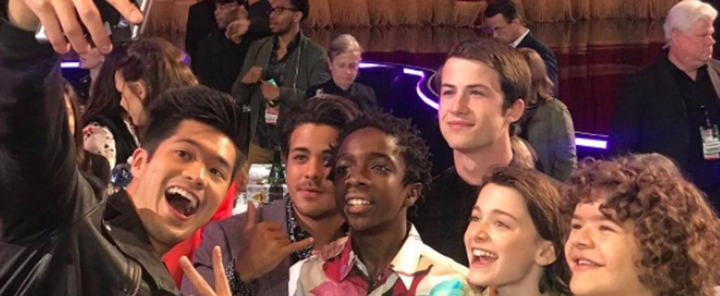 13 Reasons Why and Stranger Things Photo at 2017 MTV Awards