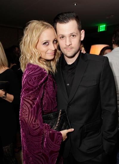 Pictures of Nicole Richie and Joel Madden at Her Lucky Magazine Cover Party