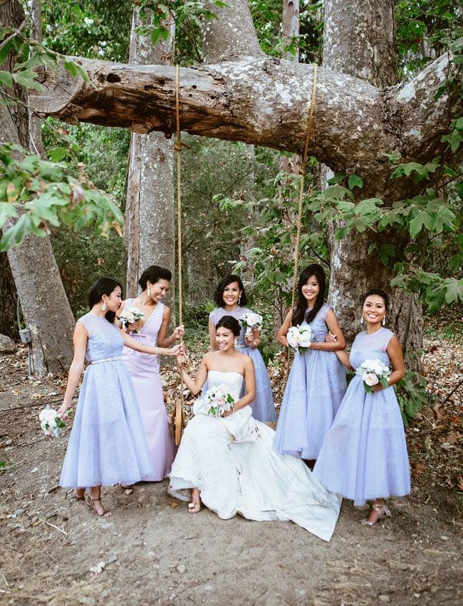 Photo by Leo Evidente Photographers via Green Wedding Shoes
