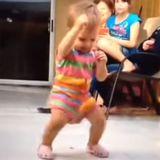Baby Stanky Leg Dancing Video