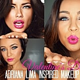 Adriana Lima-Inspired Valentine's Day Makeup