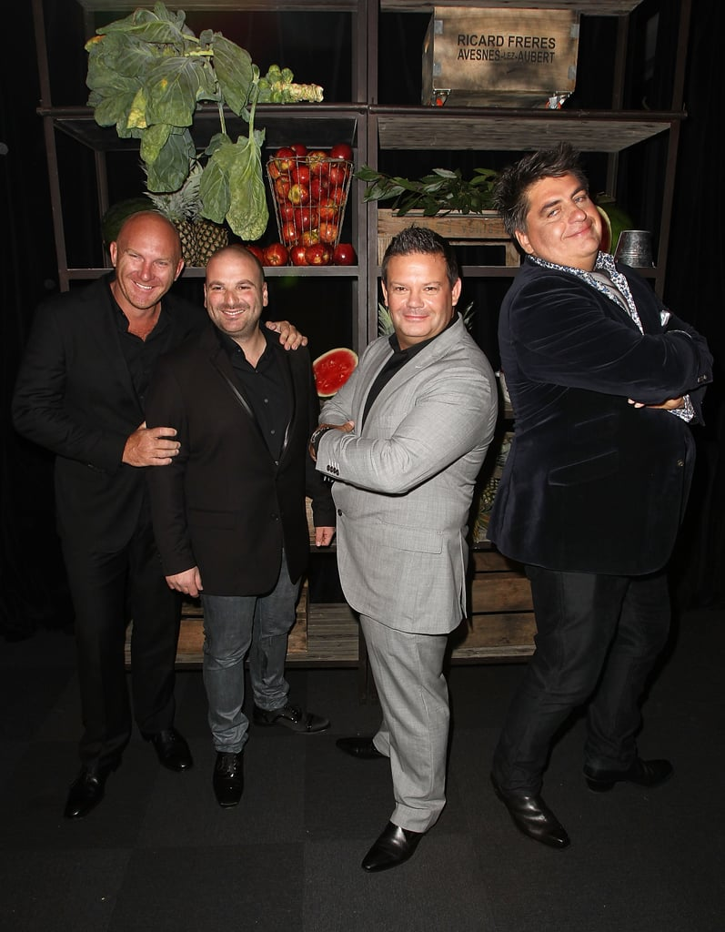 Matt Moran, George Calombaris, Gary Mehigan and Matt Preston