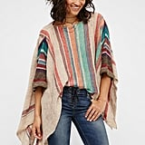 Free People's Fressia Stripe Pullover ($128) is an easy answer to cooler nights.