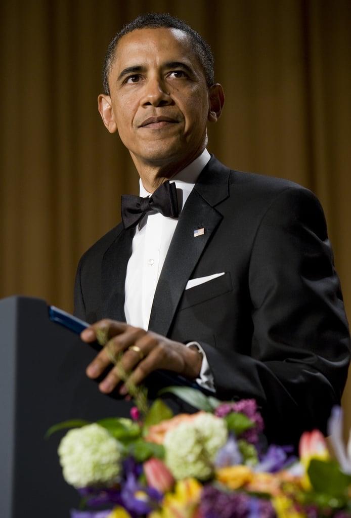 President Obama gave a humorous speech at the White House Correspondant's Dinner.