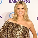 "Heidi Klum posed at the launch of her Babies""R""Us collection."