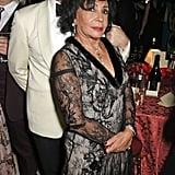 Shirley Bassey and John Hamm