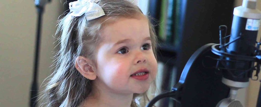 3-Year-Old Singing Song From The Little Mermaid