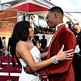 Pictured: Regina King and Stephan James