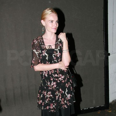 Kate Bosworth Waits for Her Car at the Chateau Marmont