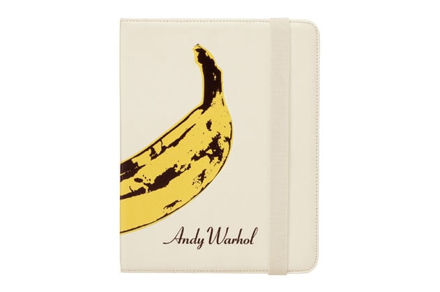 An iPad book jacket with an iconic pop art print — perfect for the burgeoning artist or Andy Warhol fan.  Incase Warhol iPad Book Jacket ($80)