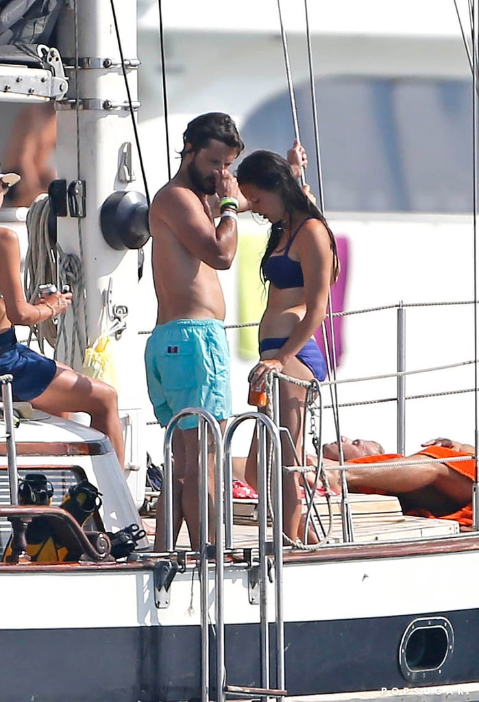 Shirtless Prince Carl Philip of Sweden in Ibiza | Pictures