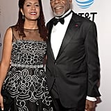 Pictured: Eliane Cavalleiro and Danny Glover