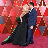 Kelly Ripa and Mark Consuelos at the 2018 Oscars