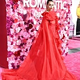 Miley Cyrus's Red Dress at Isn't It Romantic Premiere