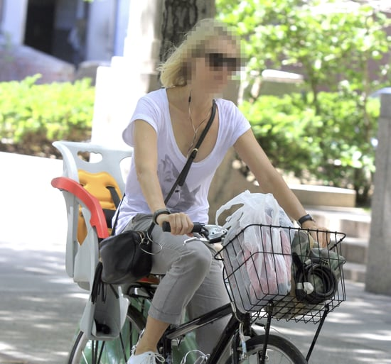 Guess Which Actress Is Biking About Town?