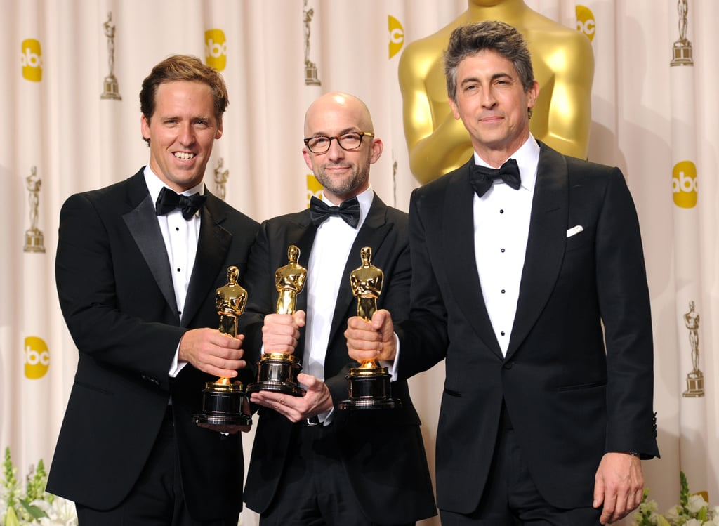 Nat Faxon, Jim Rash and Alexander Payne