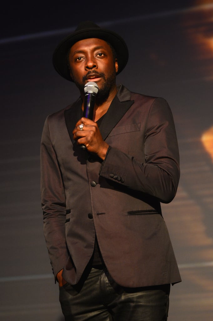 Will.i.am attended a Clinton Foundation event in London.