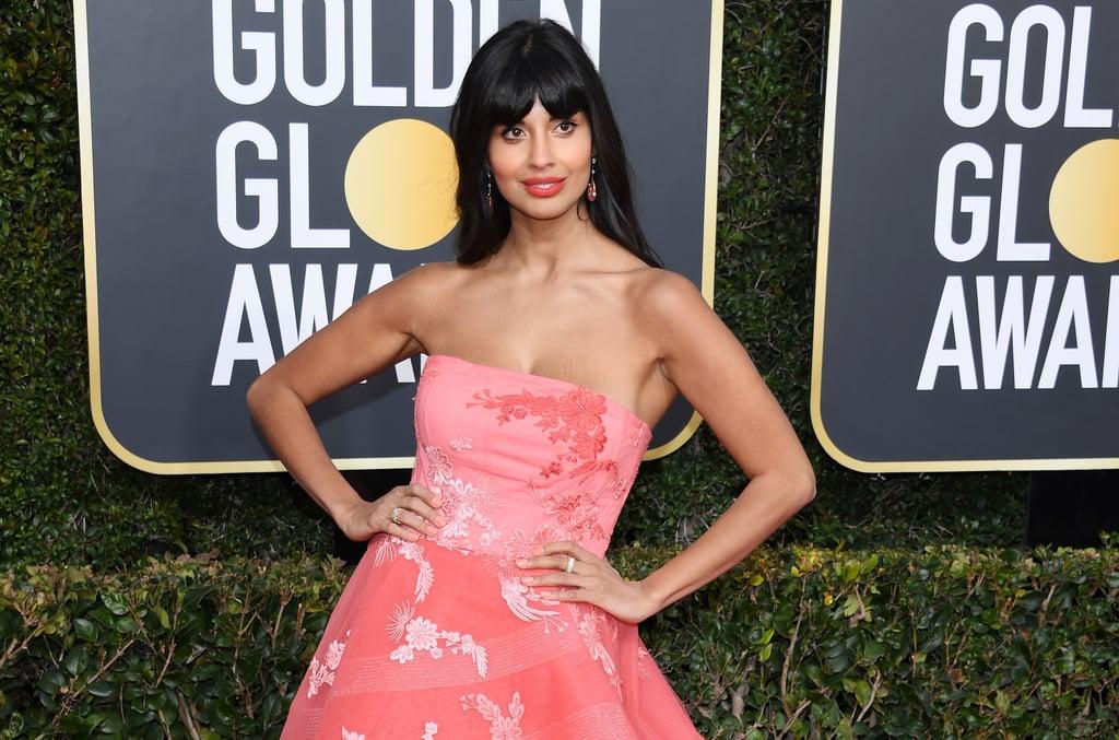 E! News Jameela Jamil Name Flub at 2019 Golden Globes