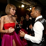 Pictured: John Legend and Taylor Swift