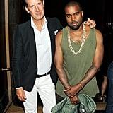 Stefano Tonchi celebrated W with Kanye West.