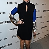 Teresa Palmer exuded major sex appeal in her Peter Pilotto cutout dress and Brian Atwood peep-toe sandals.