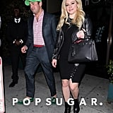 Avril Lavigne and Phillip Sarofim