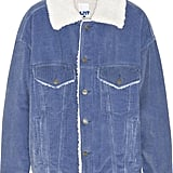 SteveJ & YoniP Faux Shearling-Lined Cotton-Corduroy Jacket Steve J & Yoni P