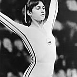 Nadia Competing in the Olympics