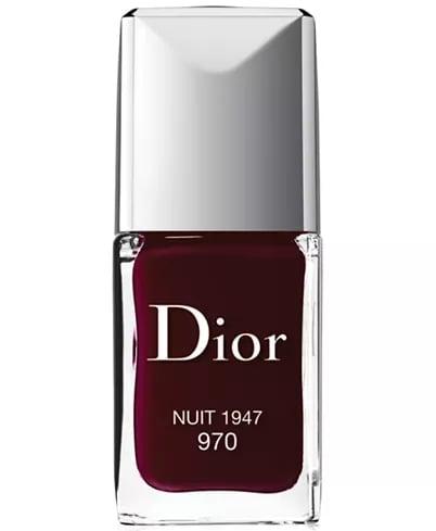 Winter Nail Polish Color: Deep Plum