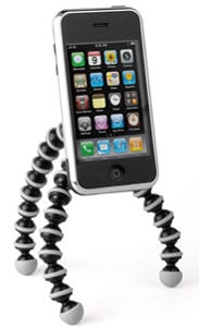 Gorillapod Mobile Tripod Turns Your Cell Into a Camera