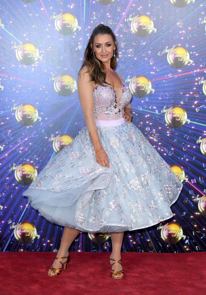Catherine Tyldesley at the Strictly Red Carpet Launch in August 2019