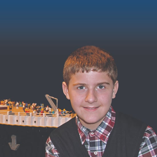 Boy With Autism Builds Largest Lego Titanic Replica