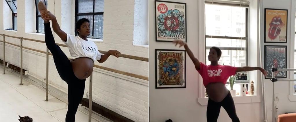 Watch Pregnant Ballerina Ingrid Silva Dance During Pregnancy