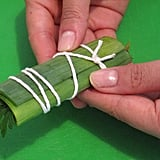 Wrapping a bouquet garni
