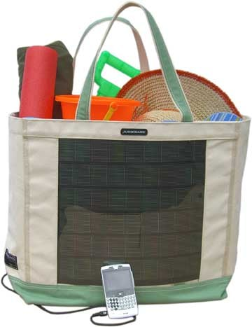 Solar Beach Bag