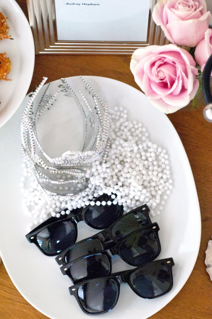 Sunglasses, Pearls, and Tiaras