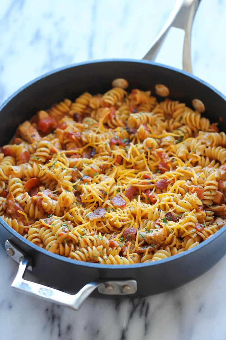 One Pot Barbecue Chicken Pasta Easy Cheap Dinner Recipes Popsugar Food Photo 29