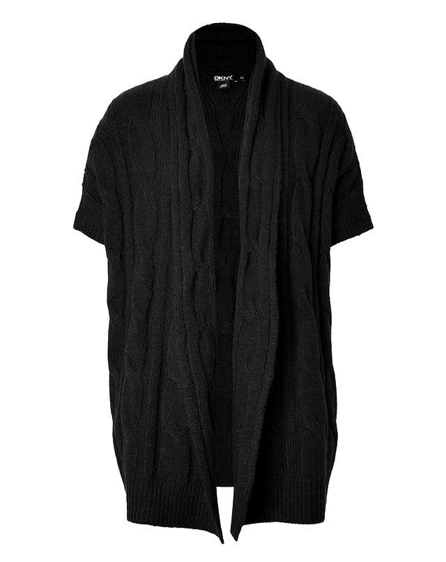 DKNY Wool Blend Cardigan