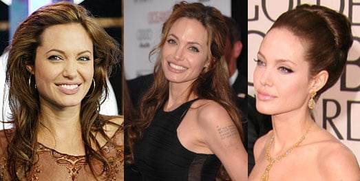 Which Dressy 'Do Looks Best on Angelina Jolie?