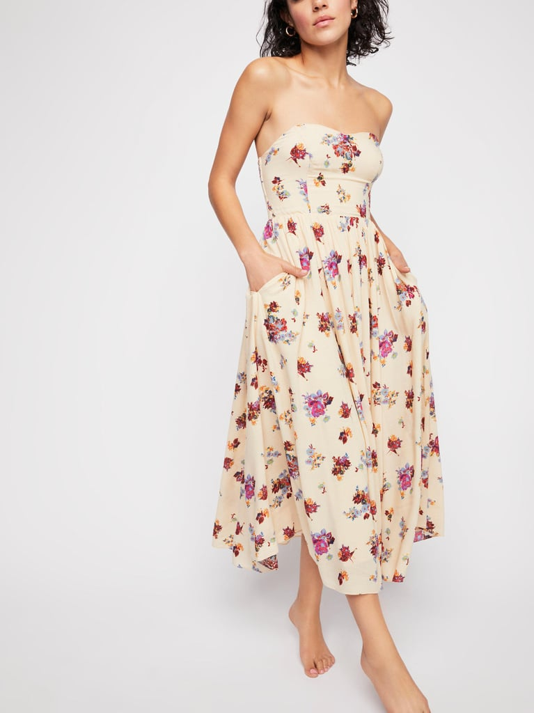 f73c9d84e2 Free People Bella Babe Printed Midi Dress