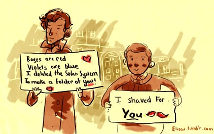Valentines For the Sherlock and Watson in Your Life