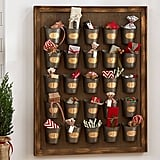 Buy: Pottery Barn Gilt Galvanized Advent Calendar