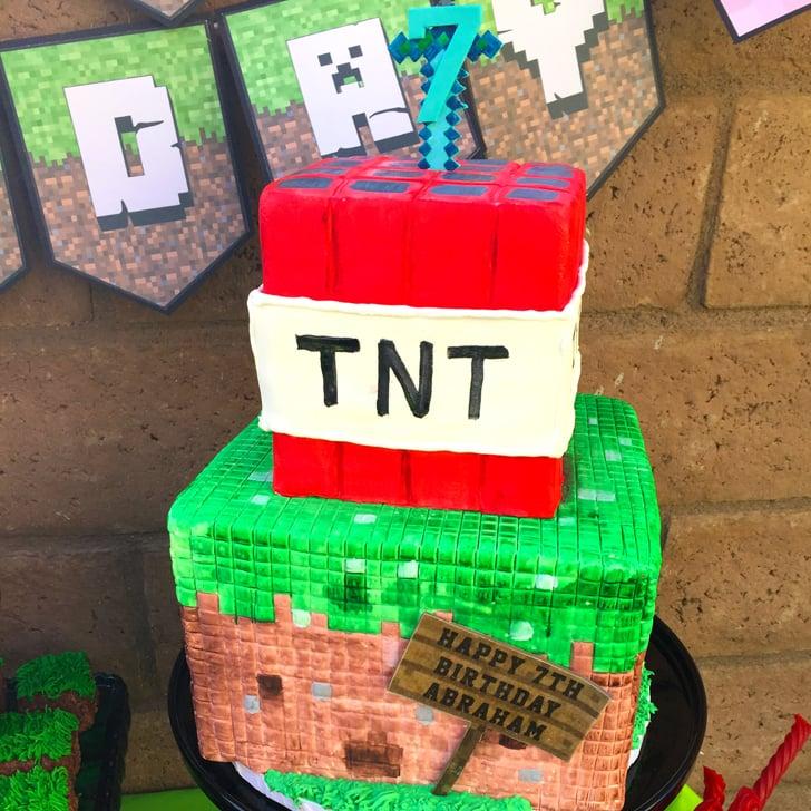 Minecraft Birthday Party Idea Popsugar Moms