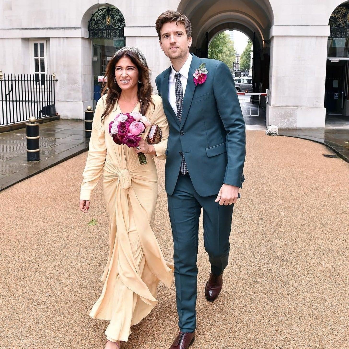 Bella Mackie\'s Jacquemus Wedding Dress | POPSUGAR Fashion