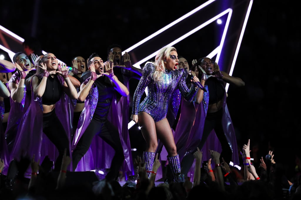 Look Back on Lady Gaga's Mesmerizing Super Bowl Outfits
