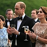 Prince William and Kate Middleton got super fancy for a June gala dinner in King's Lynn, England.