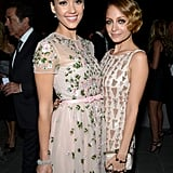 Jessica Alba and Nicole Richie got glam for the first annual Baby2Baby Gala in Culver City in Nov. 2012.